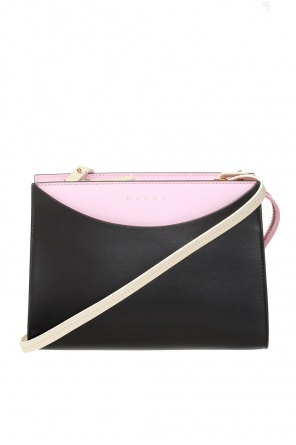 Logo-printed shoulder bag od Marni