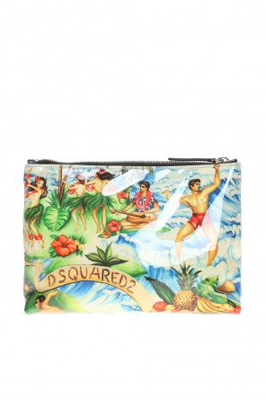 'hawaiian rocker' wash bag od Dsquared2