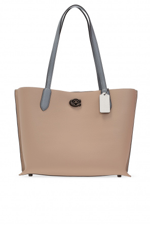 'willow' shopper bag with logo od Coach