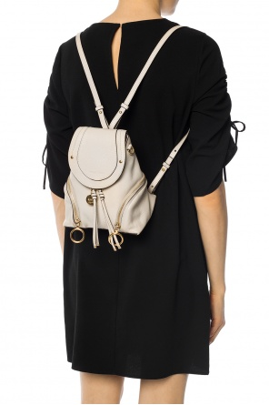 'olga' backpack with application od See By Chloe
