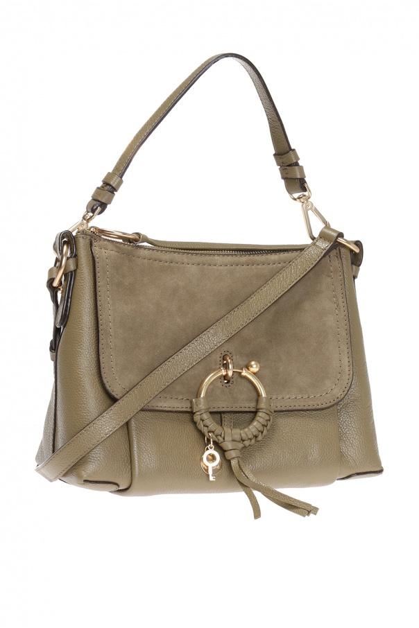shoulder bag with charm see by chloe vitkac shop online. Black Bedroom Furniture Sets. Home Design Ideas