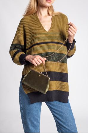 Shoulder bag with logo od Emmanuelle Khanh