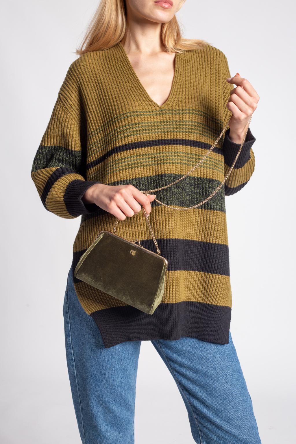 Emmanuelle Khanh Shoulder bag with logo