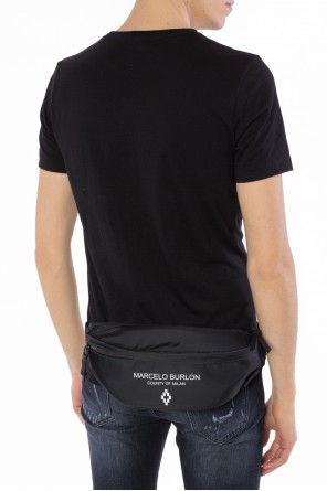Logo-printed belt bag od Marcelo Burlon