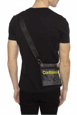 Transparent shoulder bag od Marcelo Burlon