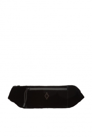 Velvet belt bag with logo od Marcelo Burlon