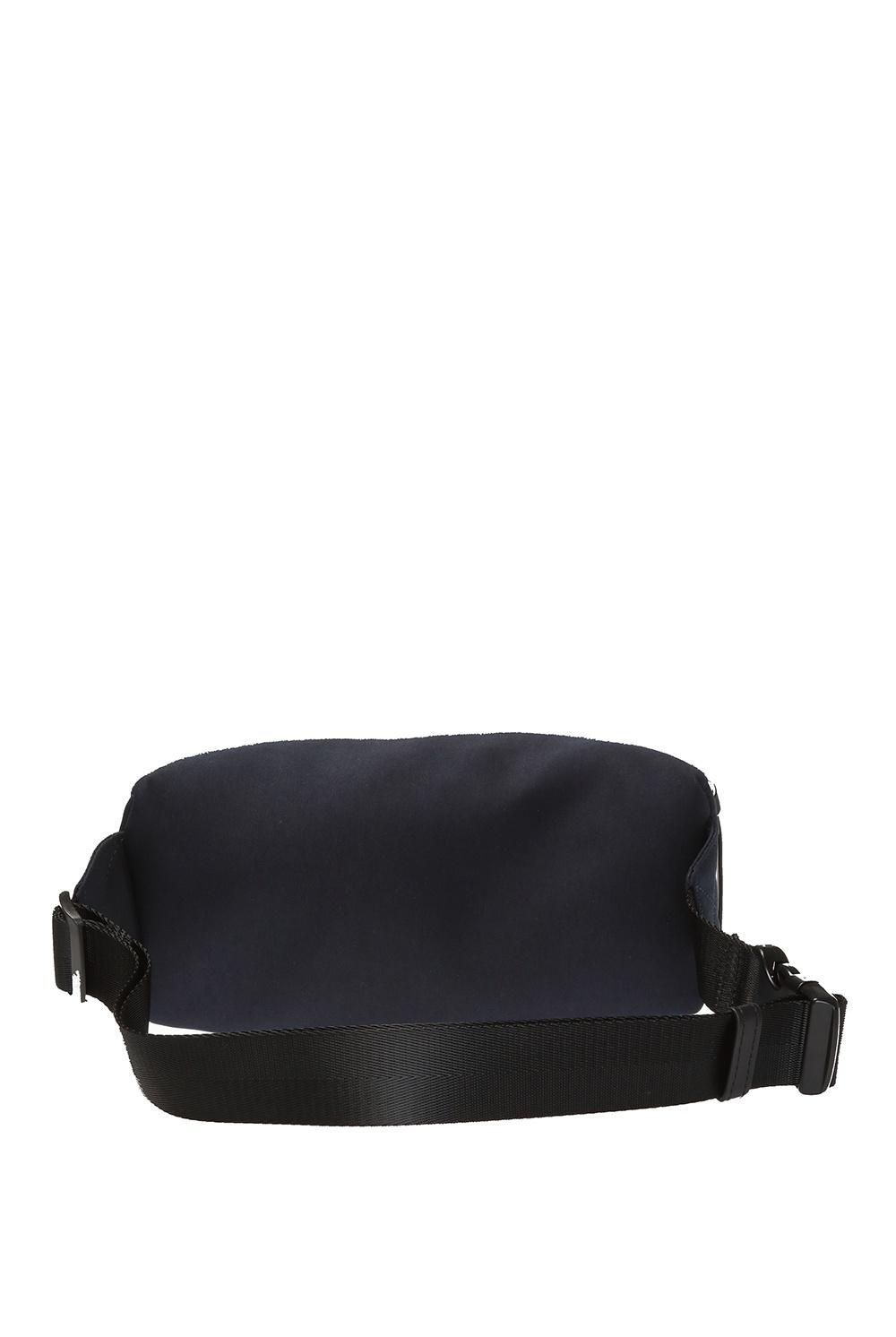 A.P.C. Patterned belt bag with logo