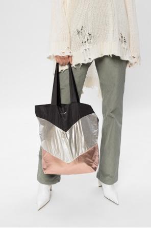 Shopper bag with logo od Isabel Marant