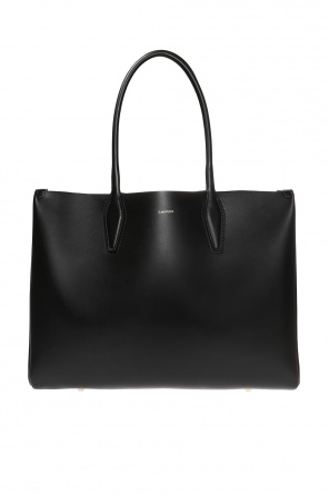 Shopper' shoulder bag with a logo od Lanvin
