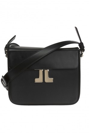 Shoulder bag with decorative closure od Lanvin