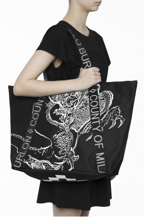 Logo shoulder bag od Marcelo Burlon