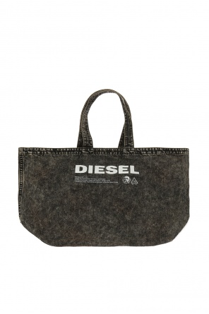 'd-thisbag shopper l' denim shoulder bag od Diesel
