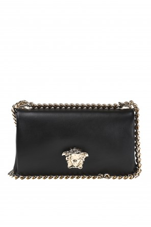 'palazzo empire'  logo shoulder bag od Versace