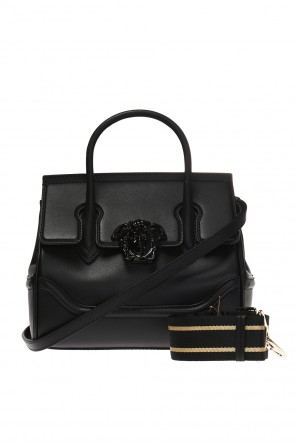 'palazzo empire' shoulder bag with a medusa head od Versace