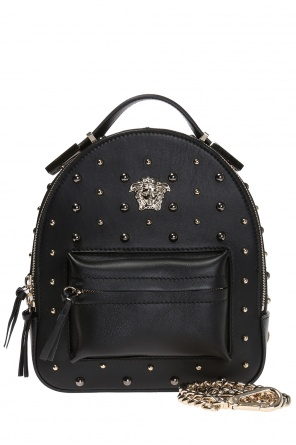 Metal logo backpack od Versace