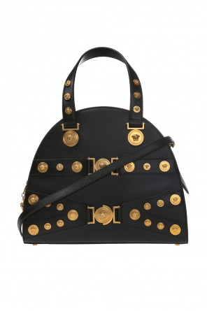 Embellished shoulder bag od Versace