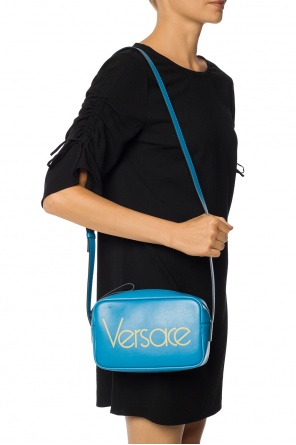 Shoulder bag with logo od Versace