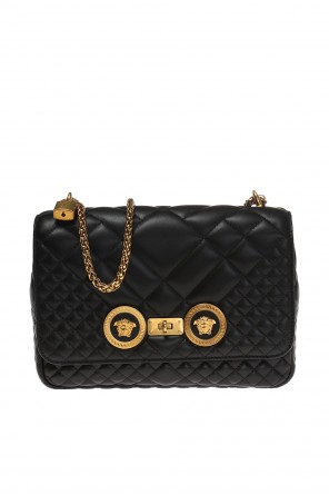 Medusa head quilted shoulder bag od Versace