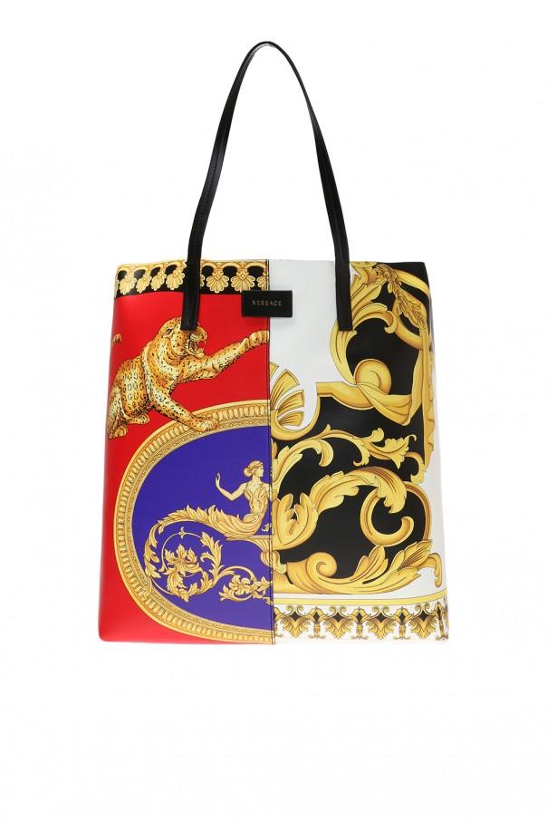 60e2afd0bd Baroque print shopper bag Versace - Vitkac shop online