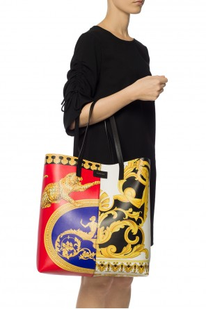 Baroque print shopper bag od Versace