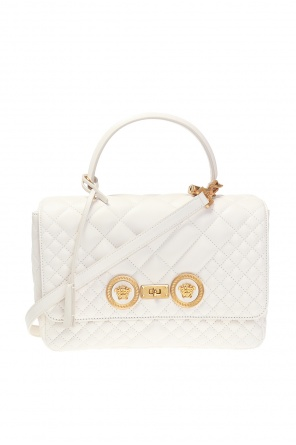 'icon' quilted shoulder bag od Versace