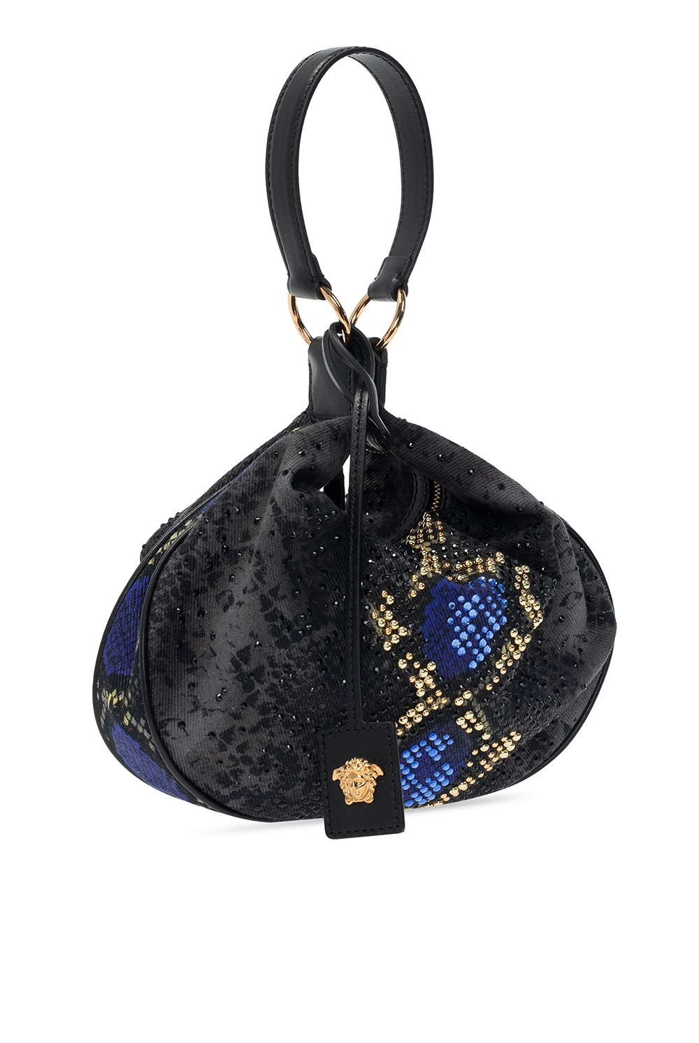 Versace Embellished hand bag