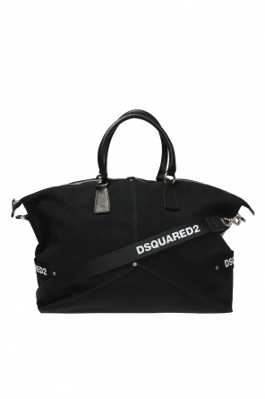 Carryall bag with a logo od Dsquared2