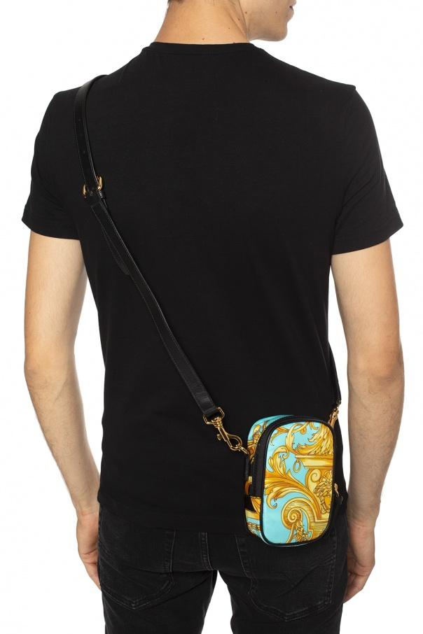 Patterned shoulder bag od Versace