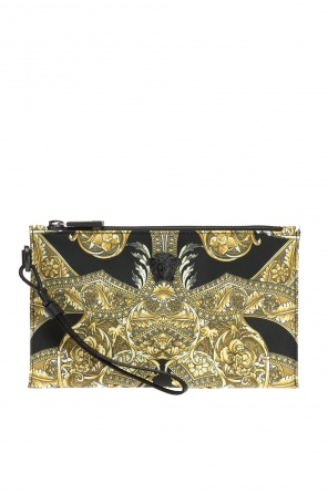 Medusa head patterned clutch od Versace