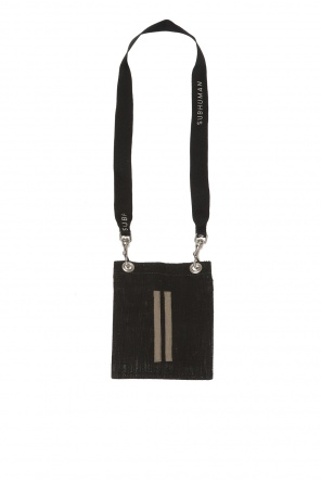 Pouch with shoulder strap od Rick Owens DRKSHDW