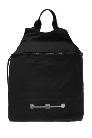 Patched backpack od Rick Owens DRKSHDW