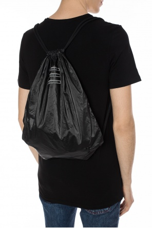 Patched sack backpack od Rick Owens DRKSHDW
