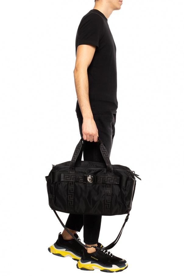 Greek key motif holdall bag od Versace