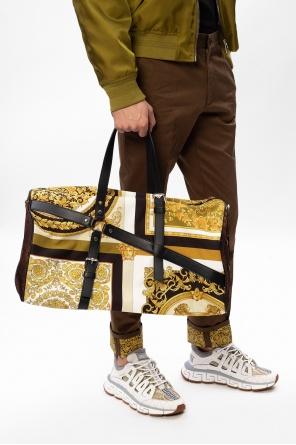 图案旅行包 od Versace