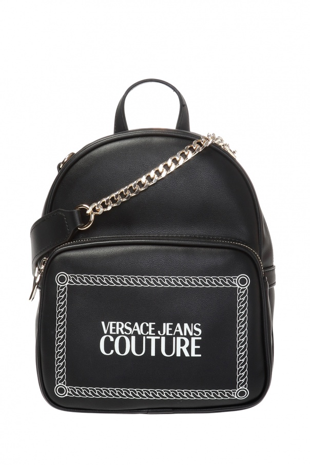 ff6beaf4cc Logo-printed backpack Versace Jeans Couture - Vitkac shop online