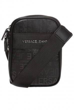 Patterned shoulder bag with logo od Versace Jeans