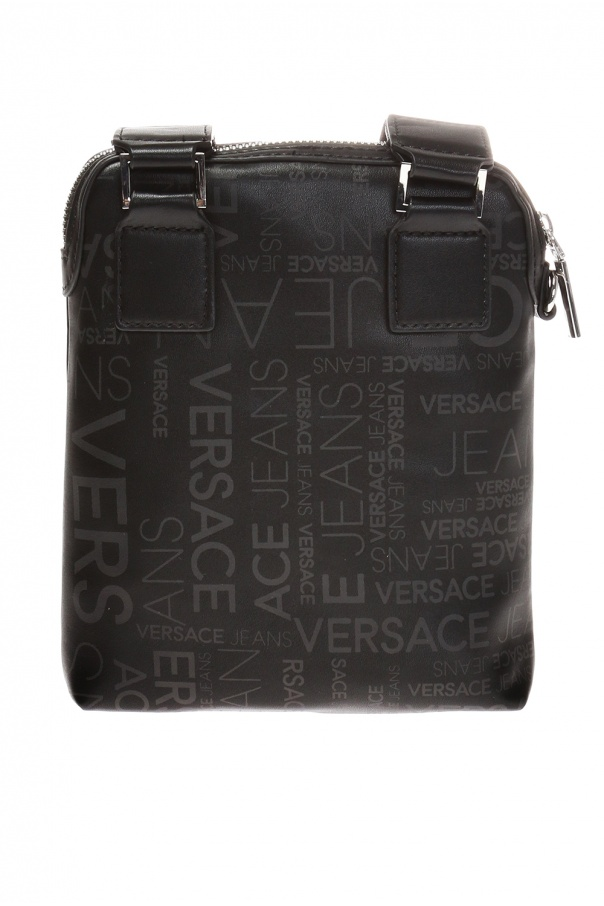 Patterned shoulder bag with logo od Versace Jeans Couture