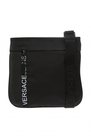 Logo-printed shoulder bag od Versace Jeans