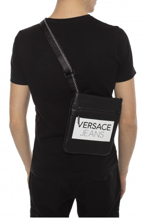 736d3e4506 Logo-printed shoulder bag od Versace Jeans ...