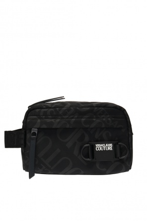Wash bag with logo od Versace Jeans Couture