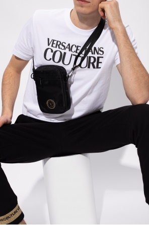Patched shoulder bag od Versace Jeans Couture
