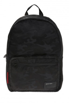 'f-discover' camo backpack od Diesel