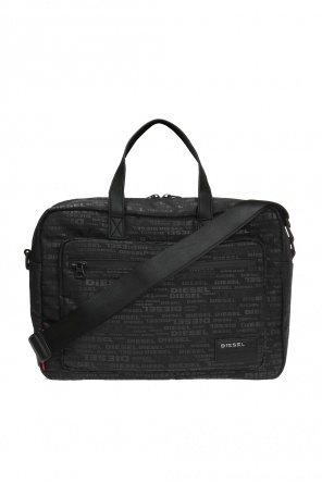 Laptop bag with logo od Diesel