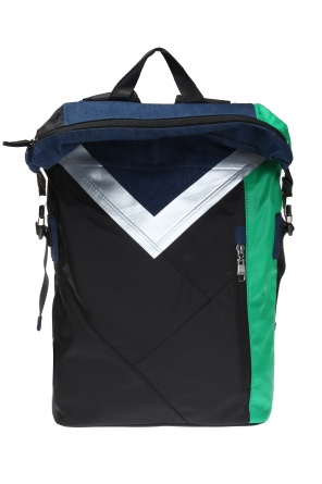 'f-sporty' backpack with stitching od Diesel