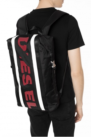 Logo-printed backpack od Diesel