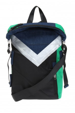 'f-sporty' one-shoulder backpack od Diesel