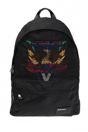 'superiiorr' logo backpack od Diesel