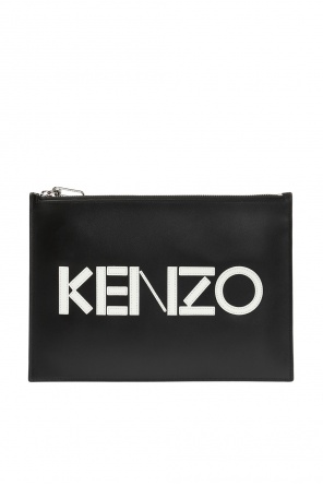 Clutch bag with a logo od Kenzo