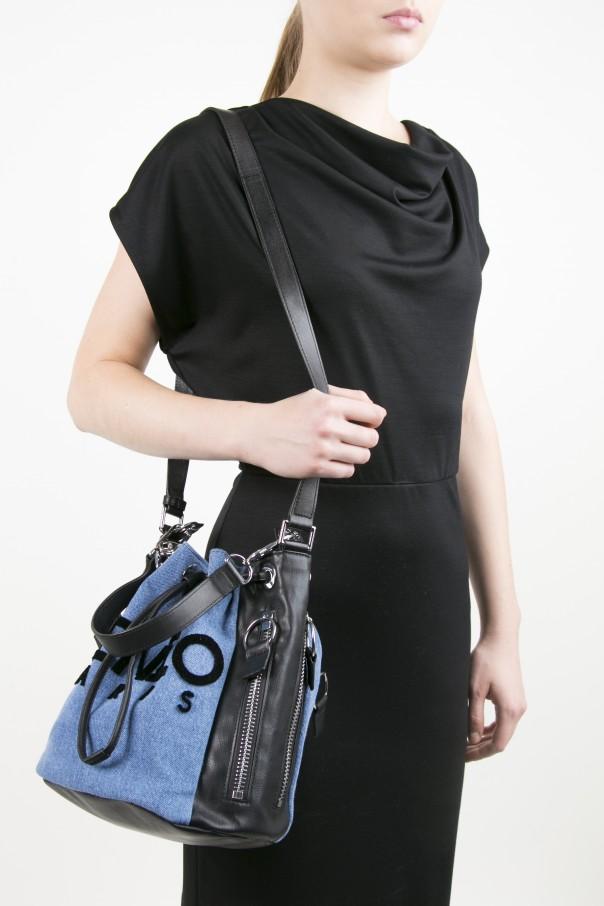f5635906bb Denim 'Kanvas' Bucket Bag Kenzo - Vitkac shop online