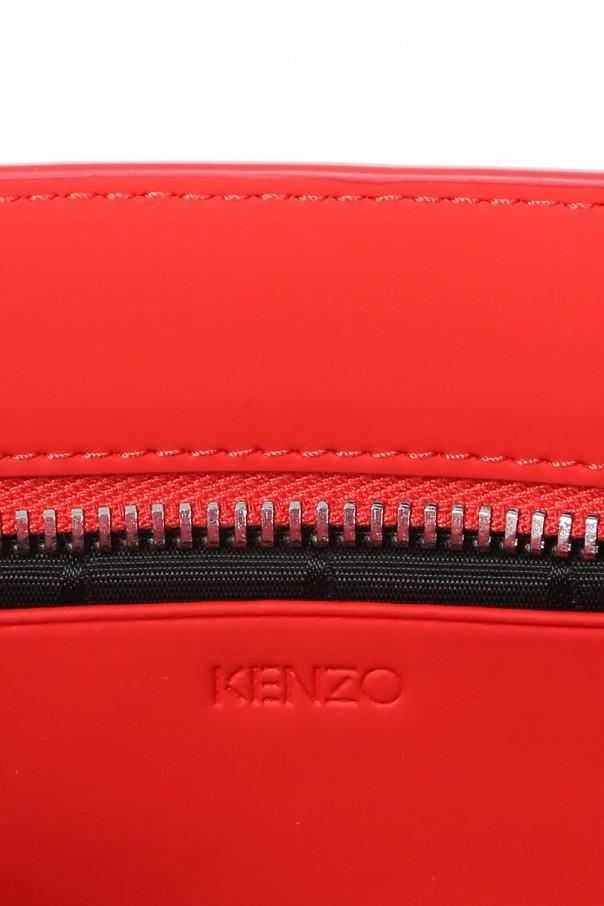 Leather clutch od Kenzo